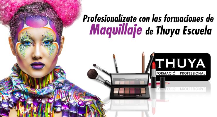 Formaciones de Maquillaje de Thuya Escuela