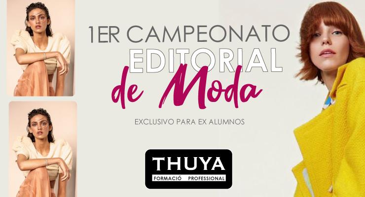 1er Campeonato de editorial de moda