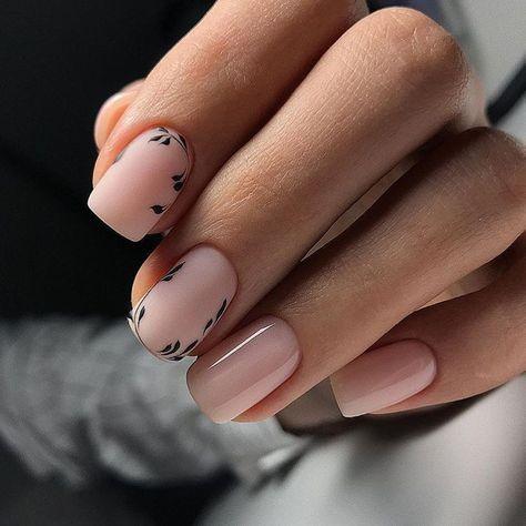 Nail art para esta primavera minimalista