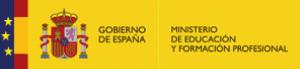 Logo Ministerio de Educación y Formación Profesional España