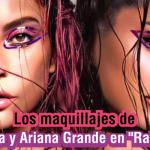 Los maquillajes de Lady Gaga y Ariana Grande en Rain on Me