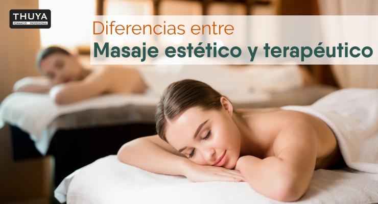 diferencias entre masaje estético y terapéutico