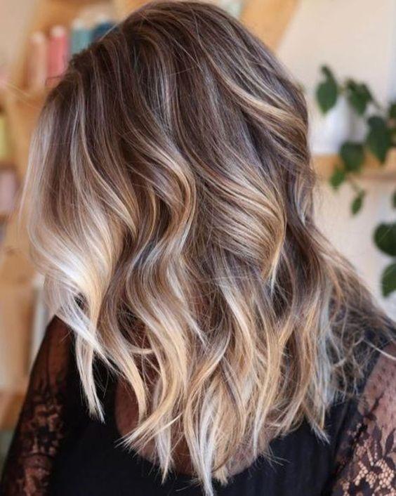 Color de cabello melting