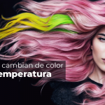Tintes que cambian de color con la temperatura