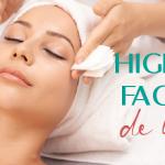 Higiene facial de lujo
