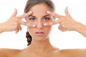 Errores al aplicar el contorno de ojos