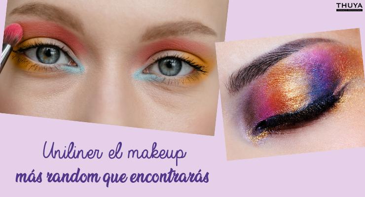 Uniliner el makeup más random que encontrarás Shared