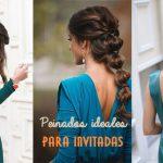 Peinados ideales para invitadas